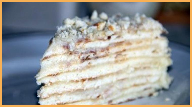Торт на сковороде с заварным кремом рецепт с пошаговым фото