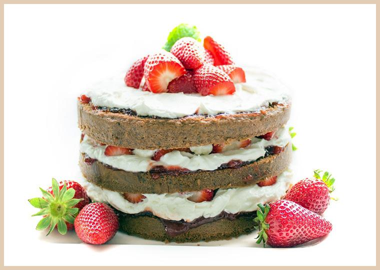 бисквитный торт своими руками