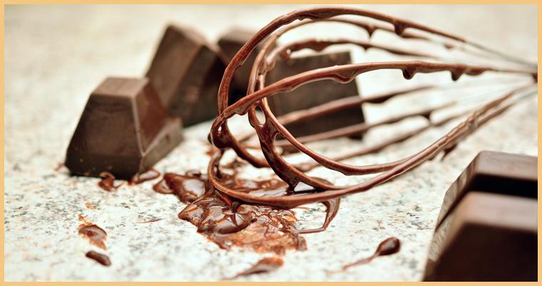 шоколад и венчик