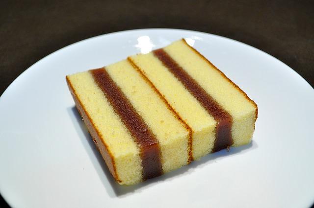 торт из бисквита