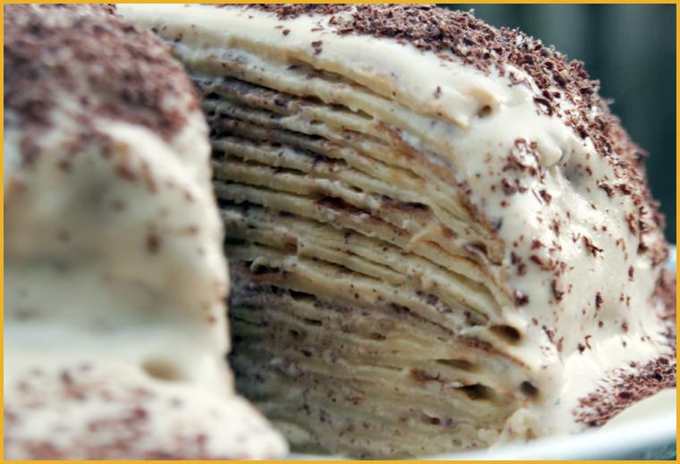 блинный торт крепвиль