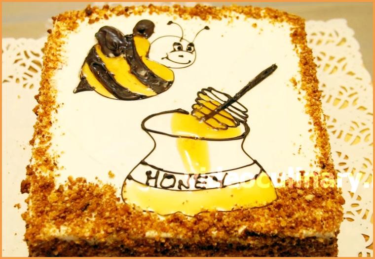 торт медовик от бабушки Эммы