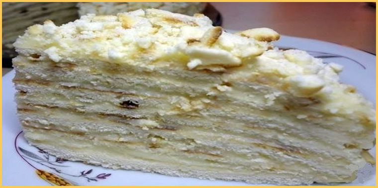 торт на сковороде