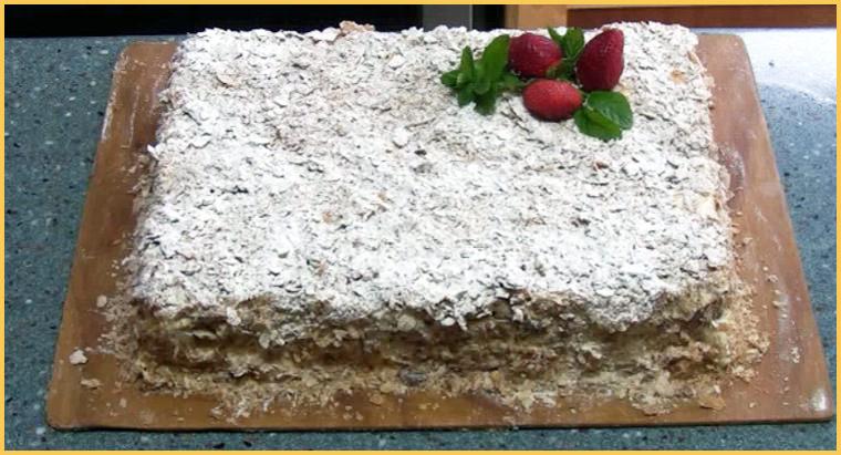 торт наполеон от бабушки Эммы