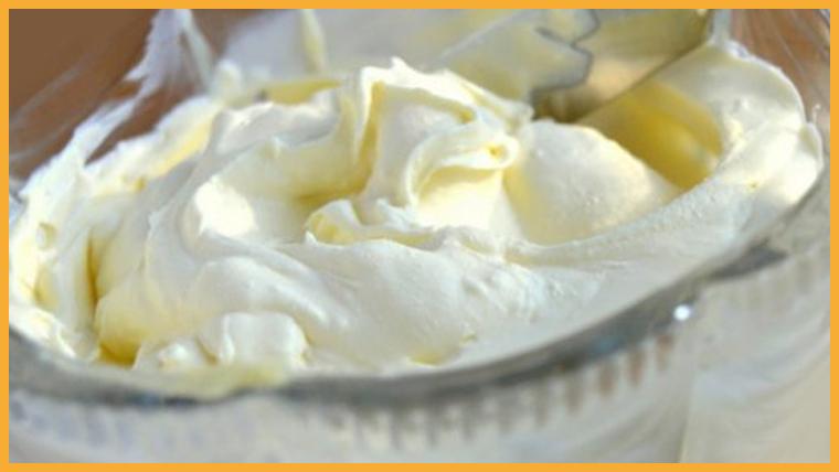 крем сметанный с желатином