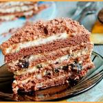"""Шоколадный торт """"Свидание влюблённых"""""""