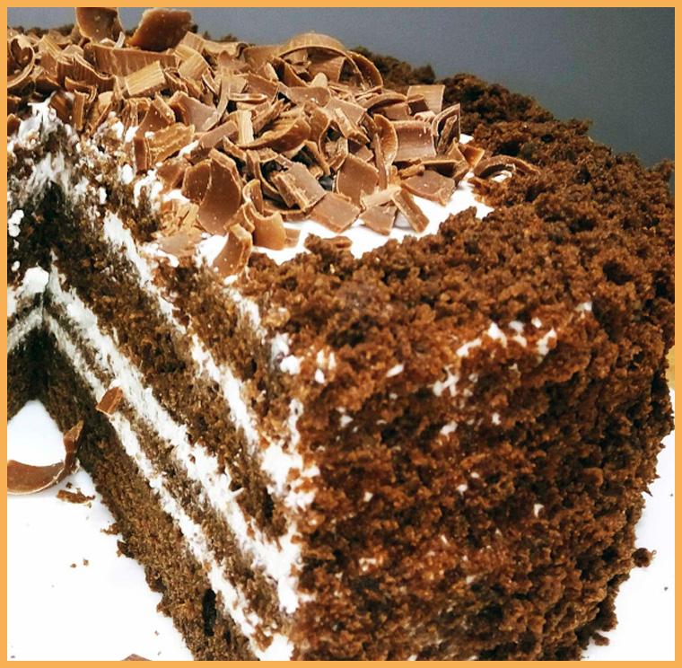 торт из кофе