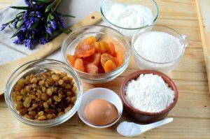 Ассортимент продуктов для выпечки